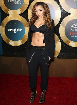 Tinashe Height Body Figure Shape