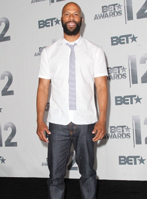 Rapper Common Height Body Shape