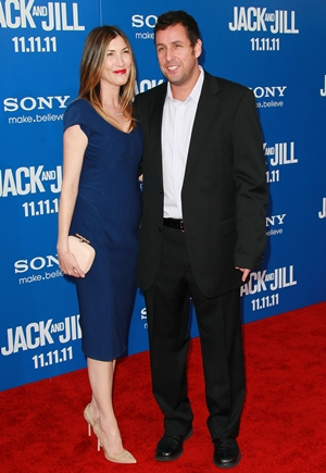 Adam Sandler and Wife Height Weight