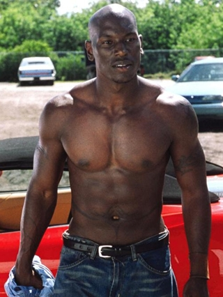 Tyrese Gibson Body Measurements Abs Biceps