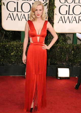 January Jones Height Weight Body Figure Shape