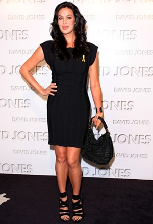 Megan Gale Height Weight Body Figure Shape