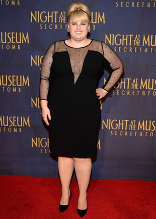 Rebel Wilson Height Weight Body Figure Shape