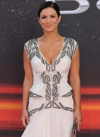 Gina Carano Body Measurements Bra Size