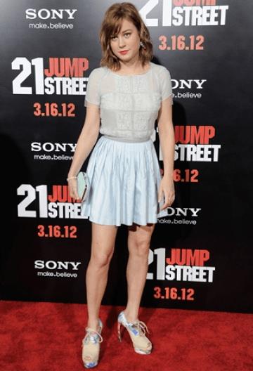 1ea6af430da Brie Larson Body Measurements Height Weight Bra Size Vital Statistics