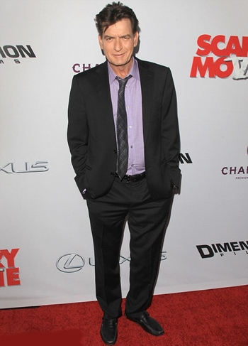 Charlie Sheen Height Weight Body Shape