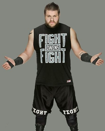 Kevin Owens Height Weight Body Shape