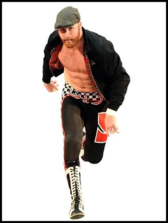Sami Zayn Height Weight Body Shape