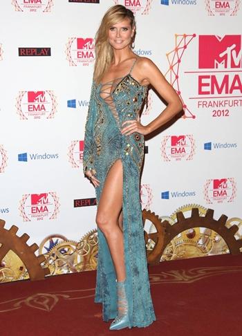 Heidi Klum Height Weight Bra Size Shoe Body Measurements