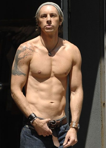 Dax Shepard Body Measurements Tattoo