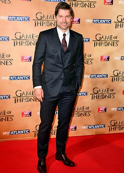 Nikolaj Coster-Waldau Body Measurements Shoe Size