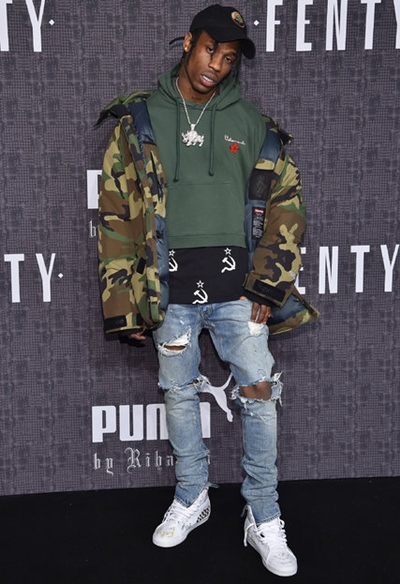 Travis Scott Height Weight Body Shape