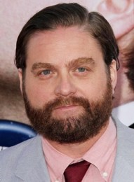 Zach Galifianakis Height Weight Body Measurements Shoe Size Age Ethnicity