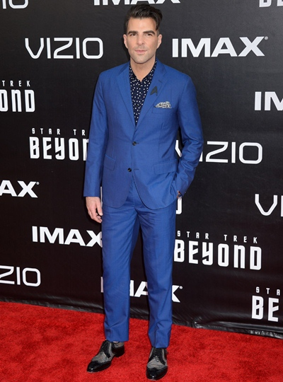 Zachary Quinto Height Weight Body Shape