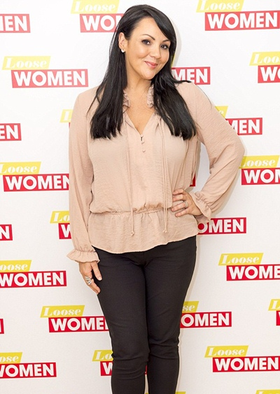 Martine McCutcheon Body Measurements Shoe Size