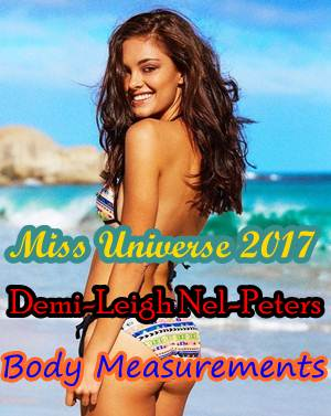 Miss Universe Demi Leigh Nel Peters Body Measurements