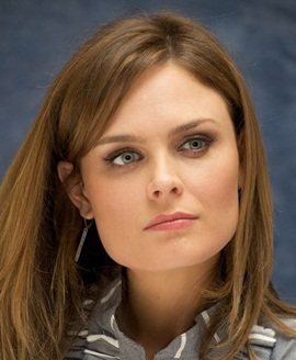 Actress Emily Deschanel