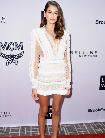 Kaia Gerber Body Measurements Vital Stats