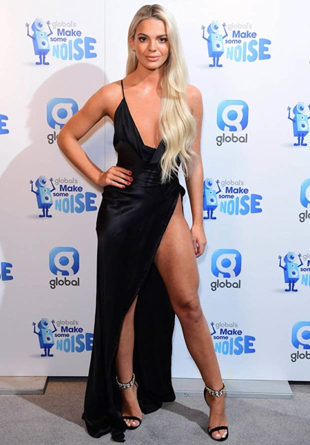 Louisa Johnson Height Weight Legs