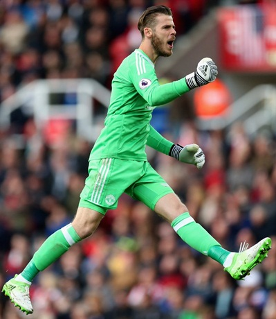 David de Gea Body Measurements Shoe Size