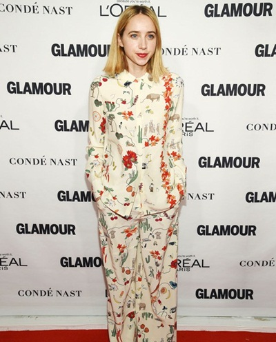 Zoe Kazan Body Measurements Facts