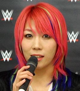 Wrestler Asuka