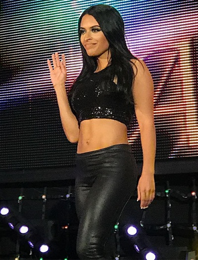 WWE Diva Zelina Vega Body Measurements Bra Size