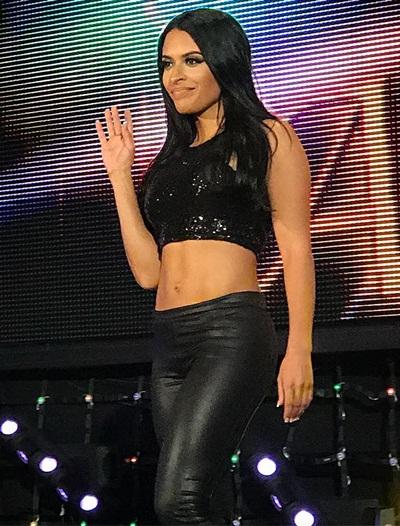 WWE Diva Zelina Vega Body Measurements Bra Size