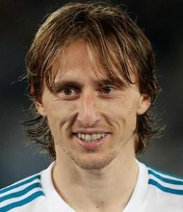 Footballer Luka Modric