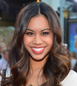 Actress Ashley Argota