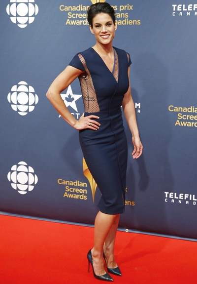 Missy Peregrym Height Weight Shoe Size