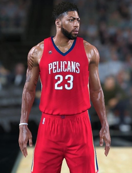 Anthony Davis Body Measurements Stats