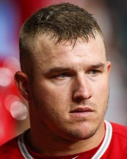 MLB Player Mike Trout