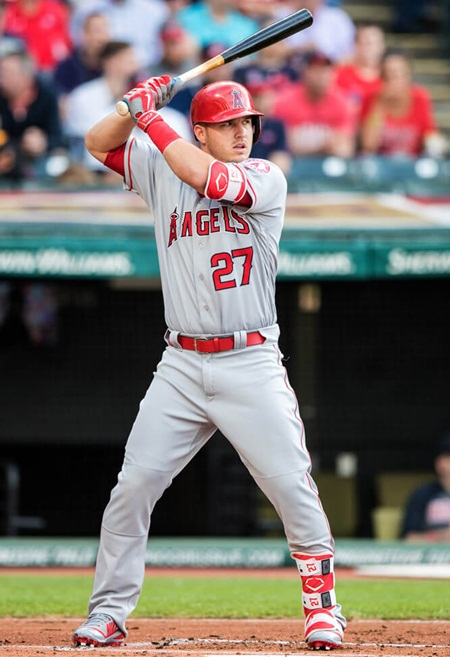 Mike Trout Body Measurements Stats
