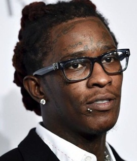 Rapper Young Thug