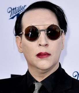 Singer Marilyn Manson
