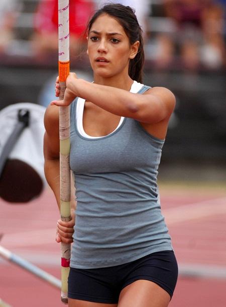 Allison Stokke Height Weight Bra Size