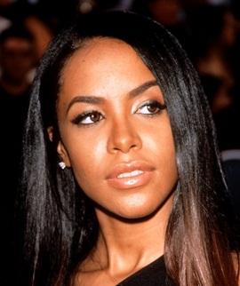 Singer Aaliyah