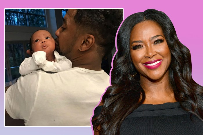 Kenya Moore's Latest Photo Showing Baby Brooklyn Looking At Her Mom Has Fans Emotional