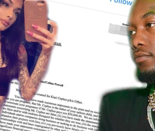 Offsets Alleged Former Side Chick Celina Powell Got Arrested In Colorado