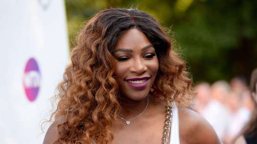 Serena Williams Rocks Fishnets And A Teal Romper At The ...