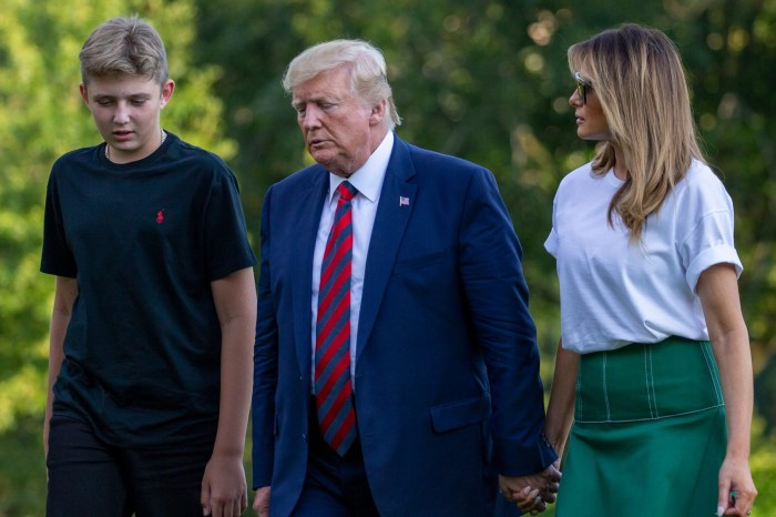 Barron Trump And His None-Existing Habits Are Getting Some Unwanted Attention Because Of Donald And Melania Trump