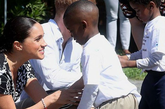 Meghan Markle Gives Speech To Teen Girls In South Africa's 'Murder Capital' As A 'Woman Of Color And Their Sister'
