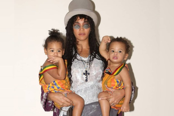 Beyonce Shares Tons Of New Photos -- Jay Z's Wife Dresses As Lisa Bonet's Denise Huxtable While Holding Twins Sir And Rumi