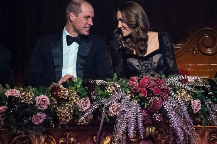 Prince William And Kate Middleton Look Completely In Love At Royal Variety Performance — See The Video