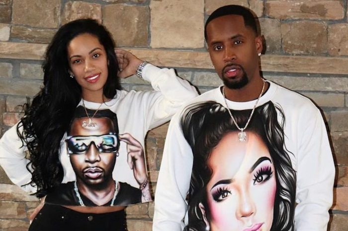 Erica Mena's Pregnancy Photo Featuring Safaree Has Fans Praising Her Natural Beauty