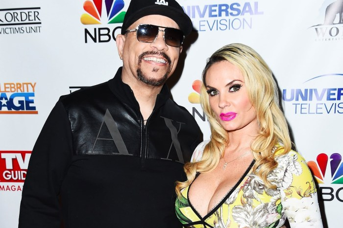 Coco Austin And Her Daughter, Chanel, Wear Identical Bathing Suits In Pool Party Photos With Ice-T