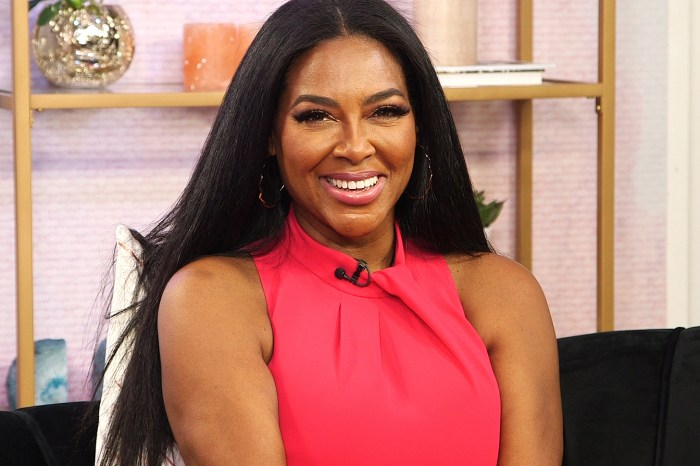 Kenya Moore Continues To Raise Awareness About Families Who Cannot Have Children