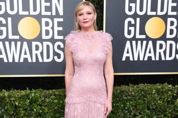Kirsten Dunst Stuns In Rodarte On Golden Globes Red Carpet — Poses With Husband Jesse Plemons