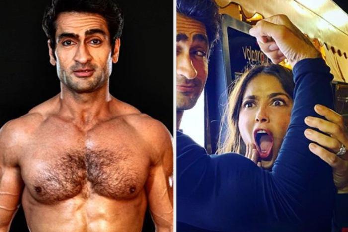 Salma Hayek Reacts To Kumail Nanjiani's Incredible Fitness Transformation!